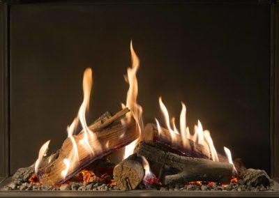 Kominki gazowe tradycyjne i grile